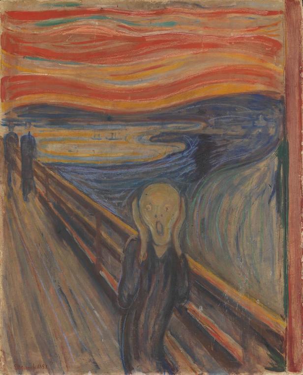 'El Grito'. Edvard Munch
