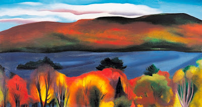 01 Georgia O_Keeffe, Lago George, otoño, 1927